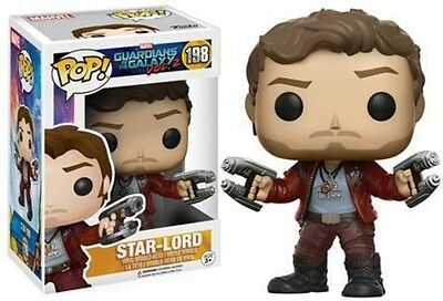 Guardians Of The Galaxy Vol.2 - Star-Lord - Funko Pop! Movies: (2017, Toy NEU)