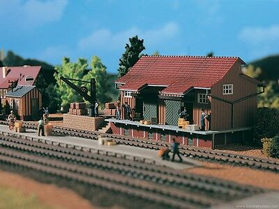 VOLLMER HO scale - 'COUNTRY FREIGHT SHED' - 1/87 plastic model kitset #5701
