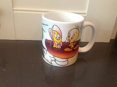 Tweety Bird and Sylvester Looney Tunes Virgo Zodiac Horoscope Coffee Mug Cup
