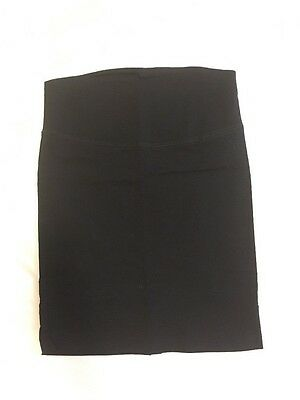 womens black maternity skirt