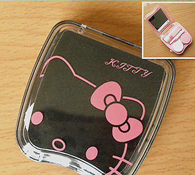 New Cute HelloKitty Design Contact Lens Case Soak Storage Cosmetic Box AA-D285a2