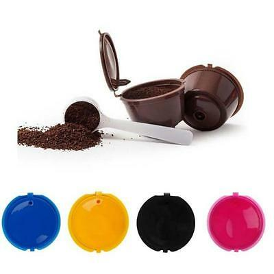 Refillable Reusable Coffee Capsules For Dolce Gusto Brewers Refill Cup Filter Y