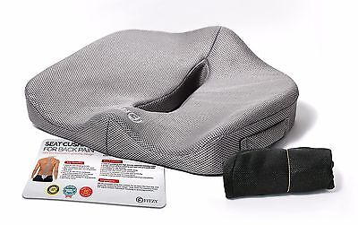 Seat Cushion Relief for Pain- Lower Back, Tailbone (Coccyx), Sciatica, Prostate
