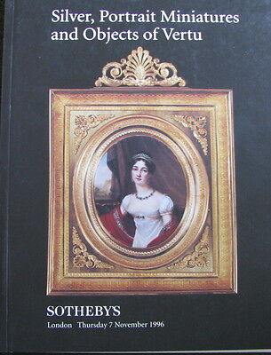 SOTHEBY'S Silver, Portrait Miniatures and Objects of Vertu