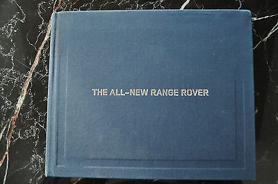 Land Rover All New Range Rover Press Book Dvd Brochure 2013 La Autoshow Edition