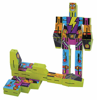 TRANSFORM IT - Wooden Robot Transformer Style Classic Toy - 3 Designs *NEW**