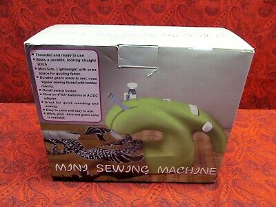 Walmart Green Mini Sewing Machine - New In Sealed Box! Priced To Sell!!
