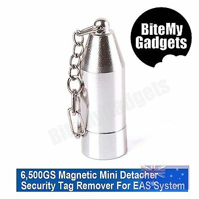 6500GS Portable Mini Bullet - Handheld Magnetic EAS Security Tag Detacher