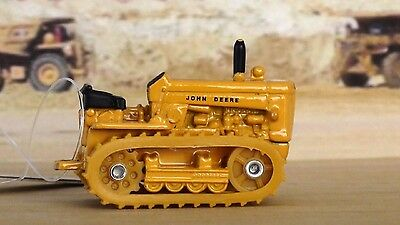 John Deere Industrial Tractor Crawler With Tracks Diecast Yellow New Ertl #35107