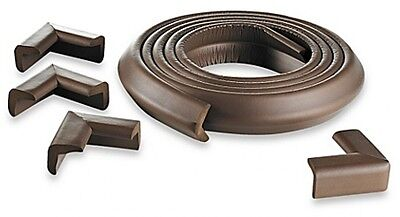 KidCo Foam Edge Corner Protector Kit Brown Some Solid Surface Fireplace Soft