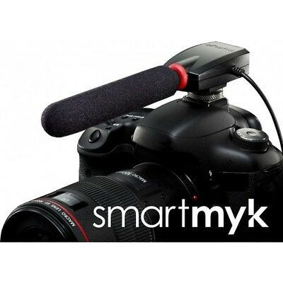 Smartmyk Directional Microphone for DSLR, SLT, Video cameras
