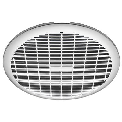 Heller 250mm Exhaust Fan Silver HEFS250