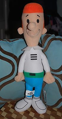 "Hanna Barbera The Jetsons George Jetson Large Plush Doll w Tag 18"" Rare"