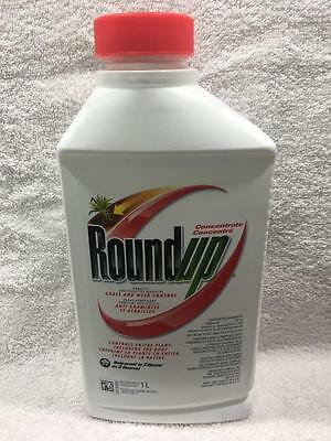 Roundup Round Up Concentrate Non-Selective Grass Weed Control Herbicide Killer1L
