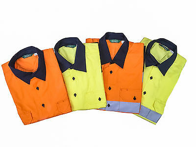 4X Hi Vis Shirts with 3M reflector tape