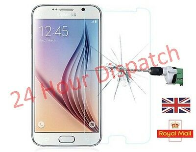 100%Genuine Tempered Glass Screen Protector For Samsung Galaxy S6   {or252