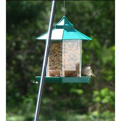 Bird Feeder Wild Outdoor Feeding Station Garden Hanging Food Seed Tray 4584U