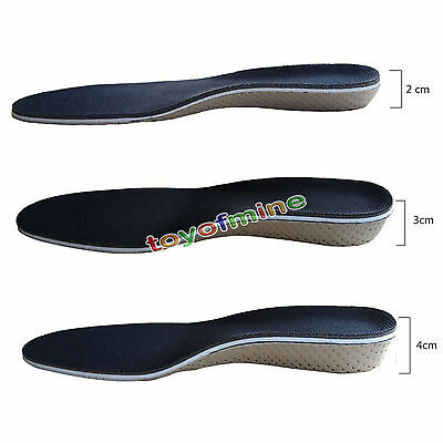 Hot Arch Support Shoe Insoles Heel insert Increase Taller Height Lift 2-4CM