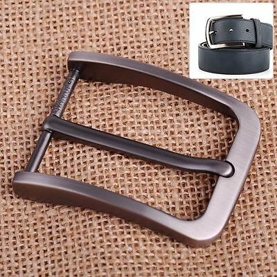 40mm Alloy Men Pin Waist Leather Single Belt Buckle Head Prong Clips Replacement