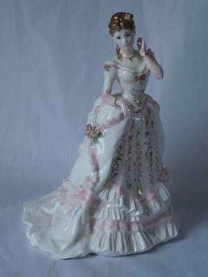 "Royal Worcester Figurine ""the Jewel In The Crown"" Splendour At Court Ltd Ed"