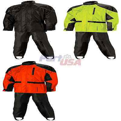 Nelson-Rigg AS-3000 2-Piece Suit Motorcycle Street Rain Suits