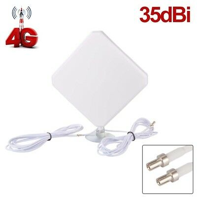 TS9 Plug Aerial Amplifier 35dBi 4G LTE Antenna Booster Dual Mimo Network BI622