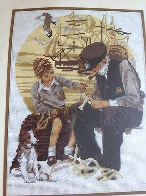 Learning The Ropes Tapestry Kit 75963 29X39Cm New Unopened