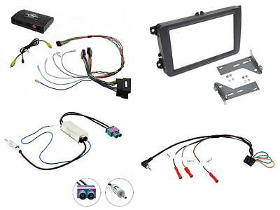 CTUVW03 Complete Double Din Stereo Fitting Kit VW Caddy 2015 onwards