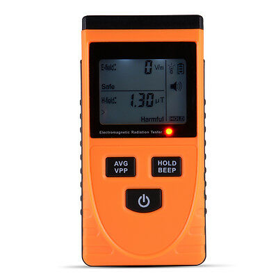 GM3120 Digital LCD EMF Meter Tester Electromagnetic Radiation Detector TE637
