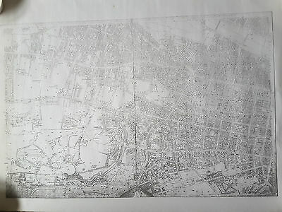 Old Map Of Glasgow City