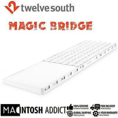 Twelve South MagicBridge Connector/Holder For Apple Magic Trackpad 2 & Keyboard
