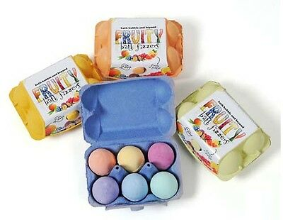 Easter Egg Bath bomb Gift - Handmade in UK, top quality fizzers