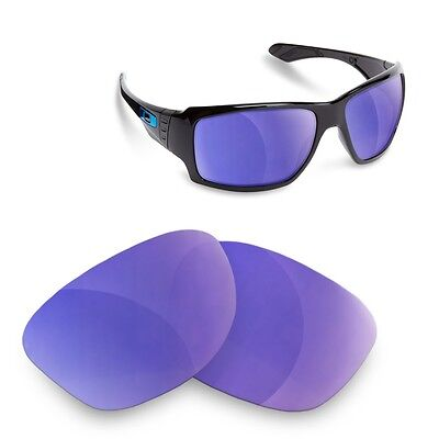 Fit&See Polarized Purple Replacement Lenses for Oakley Big Taco