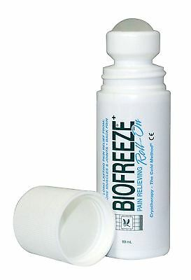 Biofreeze Pain Relieving Roll On | Natural Long Lasting Cryotherapy | Rollerball