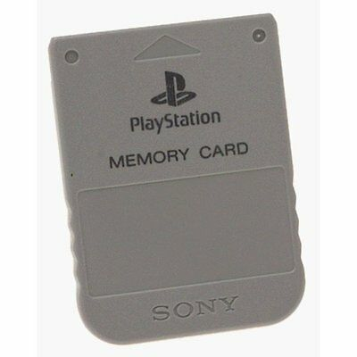 Sony PlayStation OEM Memory Card For PlayStation 1 PS1 Very Good 8Z