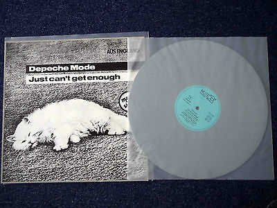 Depeche Mode Just can´t get Enough RARE GERMAN MAXI SINGLE MADE OF GREY VINYL!!!