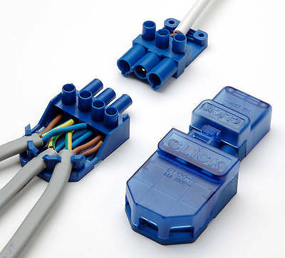 CT101C Click Flow 3 Pin Connector Pull Apart - Junction Box - Connector