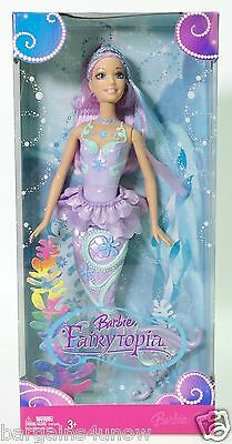 Barbie Fairytopia Purple Hair Nrfb