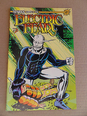 Electric Fear 2 .  Sparks Comics -  1986  -  FN +