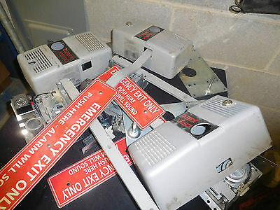 Detex ECL-230 Door alarms. 3 units for parts or repair
