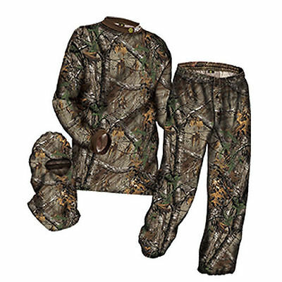 New 2017 Hecs HUNTING suit Lge Mossy Oak country w/FREE dvd& FREE priority ship