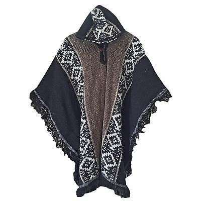 Wholesale Lot Of 10 Llama Wool Mens South American Poncho Cape Coat Jacket Cloak