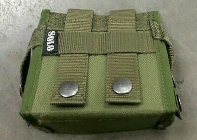 Unusual British MOLLE Pouch Case Poss. GPS CTLS Made By Solo of Hereford