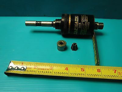 """Used Tapmatic 30X  #0-1/4"""" Reversible Tapping Head Attachment"""