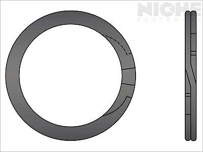 Spiral Retaining Ring External HD 1-1/8 Steel (75 Pieces)