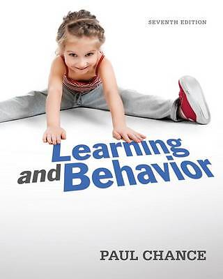 Learning and Behaviour by Paul Chance 7e 2014 Hardback