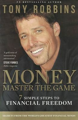 Money Master The Game by Tony Robbins NEW - 7 Simple Steps to Financial Freedom