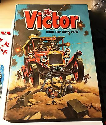 THE VICTOR - Book for Boys 1978 Annual - Excellent condition - Unclipped