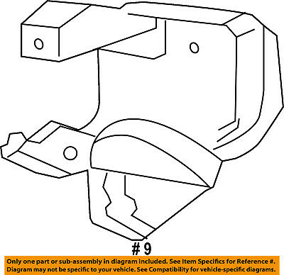 FORD OEM 92-96 F-250 Front Door-Control Rod Retainer E1DZ5421952A