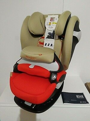 CYBEX Pallas M-Fix Isofix Toddler Baby Car Seat Safety GOLD LINE 123